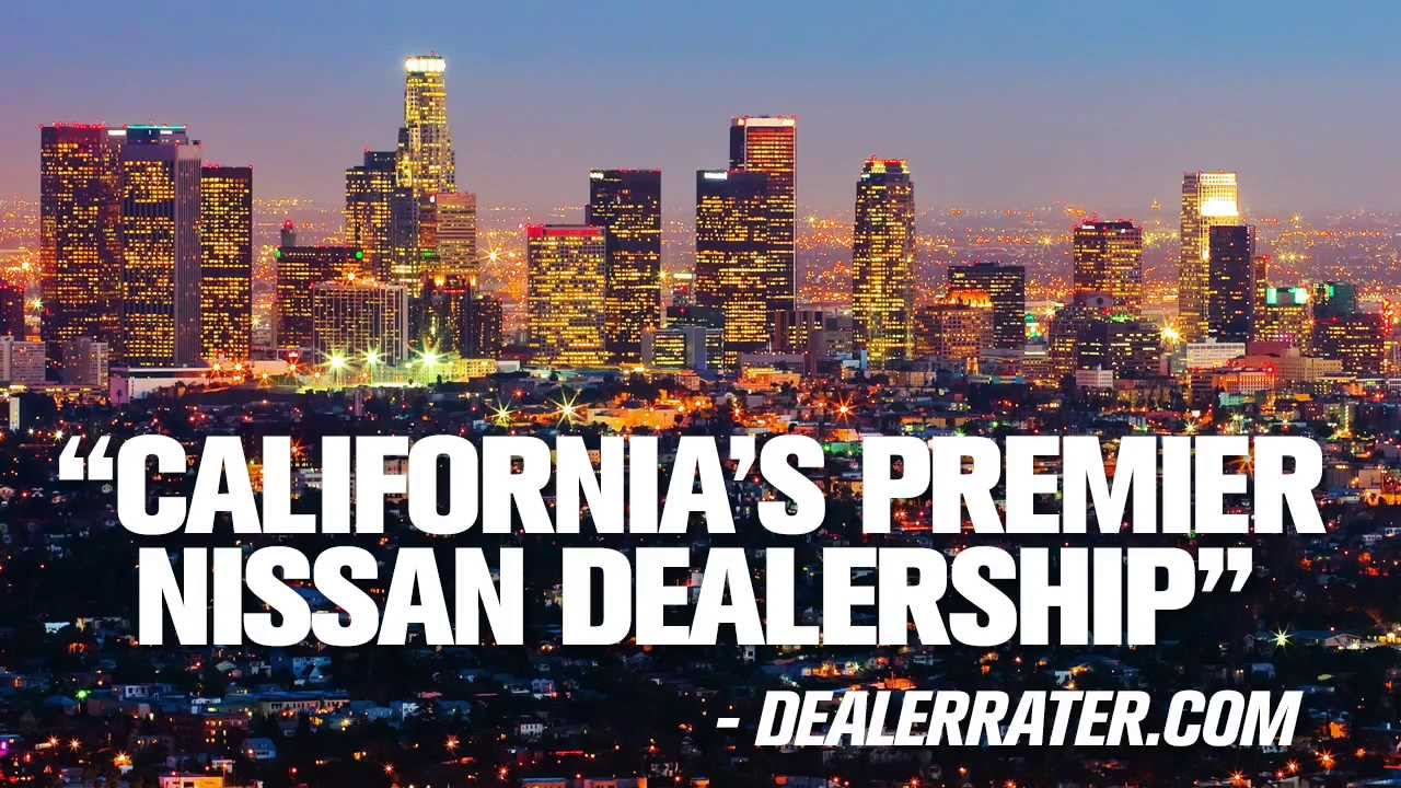 Carson Nissan   Dealer Of The Year   Los Angeles County Car Dealer