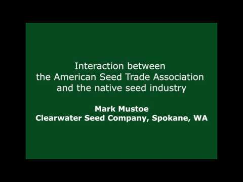 Interaction between the American Seed Trade Association and the native seed industry