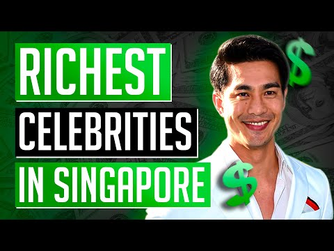 Top 5 Richest Celebrities In Singapore 2018