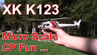 XK K123 AS350 RC helicopter review - what it gets right & wrong.