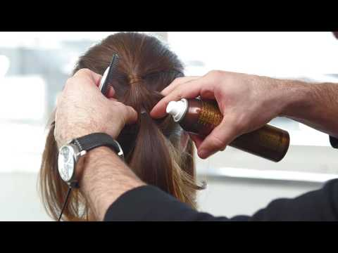 The Salon by InStyle Wedding Updo with L'ANZA Global Healing Director Ammon Carver