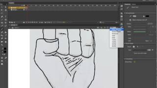 La animación de la Mano de Adobe Animate CC Tutorial