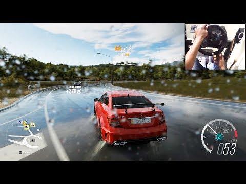 Mercedes Benz c63 AMG - Forza Horizon 3 (Logitech g29) gameplay