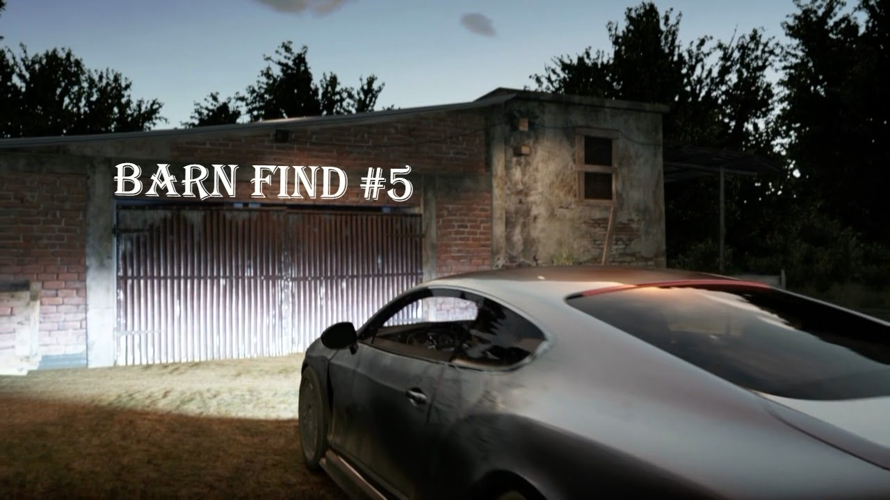 Forza Horizon 2: Barn Find 5 (Montellino) - YouTube