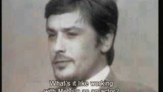 Le Samouraї Alain Delon interview
