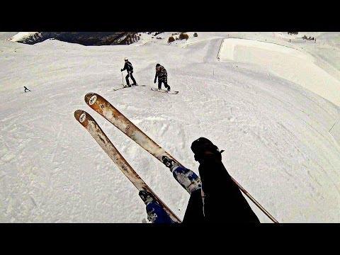 GoPro Hero 3 - Station Ski PRALOUP 2014 - IUT GLT d'Aix-en-Provence : Session 1