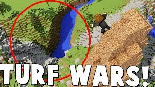TAKE OVER ALL THE LAND!? - Minecraft Minigame TURF WARS | JeromeASF