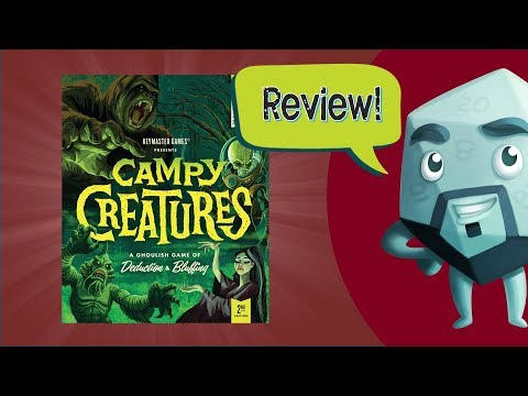 Campy Creatures (2nd Edition) & Expansion Review - With Zee Garcia