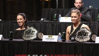 UFC Go Big Press Conference Replay