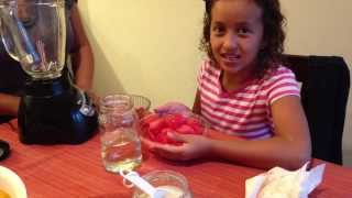 Vero Hoy - Paletas Y Agua De Sandia Y Fresa | Strawberry & Watermelon Popsicles And Drink