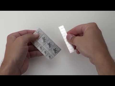 Goldline- Silver MapleFlex  How To Separate Bars