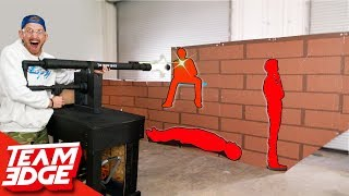 Download Shoot the Person Behind the Wall! | Cannon Edition!! Mp3 and Videos