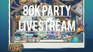 Animal Jam: 80K PARTY LIVE EVENT!