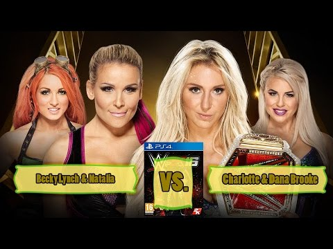 MONEY IN THE BANK 2016 WOMAN'S TAG TEAM MATCH: WWE 2K16 Predictions