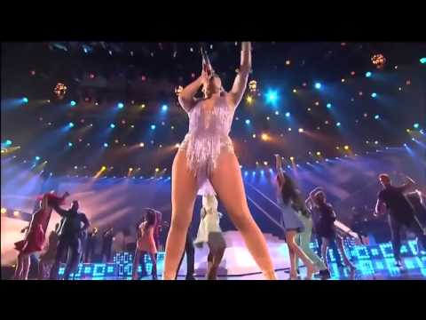 Jennifer López tributo a Celia Cruz Live at American Music Awards 2013 HD 720p