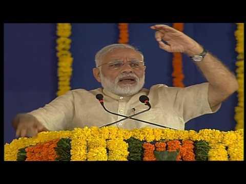 Narendra Modi 's speech at SAUNI Yojana inauguration in Gujarat