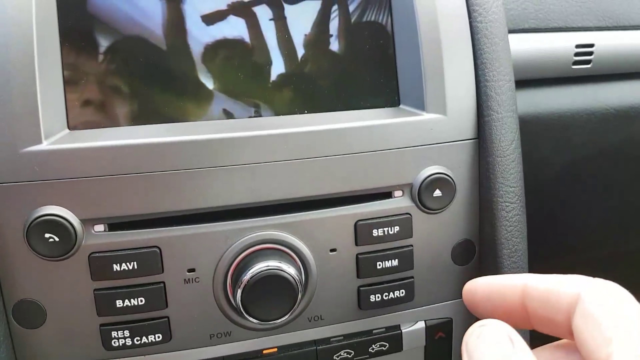 Radio Android Peugeot 407