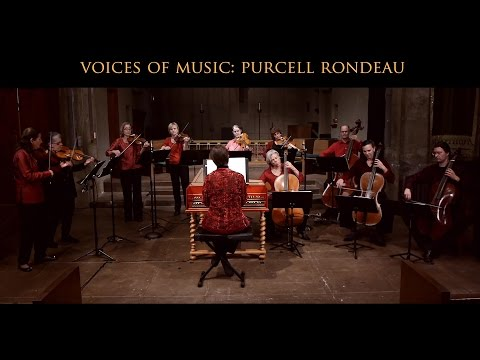 Henry Purcell: Rondeau from Abdelazer Z570, Voices of Music; original instruments 4K UHD