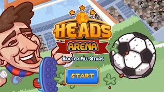 HEADS ARENA - SOCCER ALL STARS GAME WALKTHROUGH
