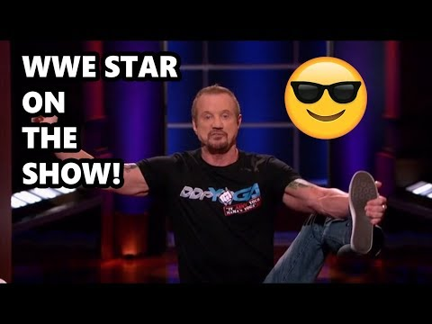 Shark Tank WWE Star On Shark Tank And Sharks Are Amazed! Shark Tank Showcase