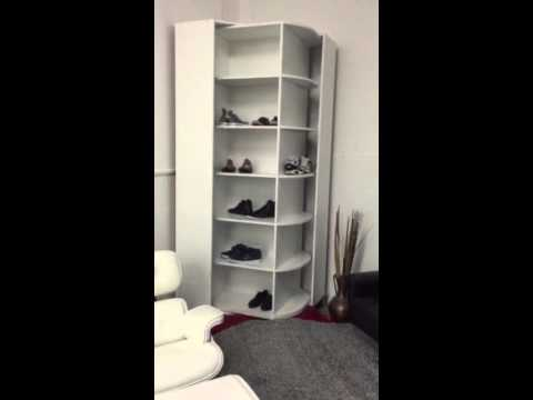 Schuhschrank Drehbar Einzeldesign Einzelstück
