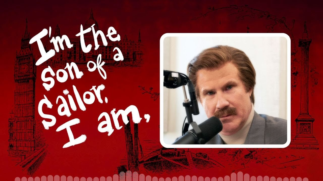 Ron Burgundy's British Accent