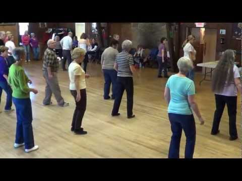 BACHATA SLIDE Line Dance @ 2012 Arden Gild Workshop in DE with IRA & JOANNE