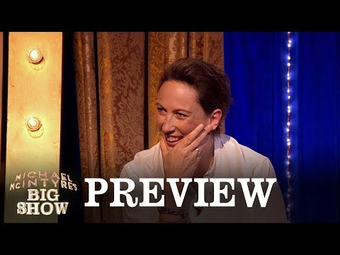 Was Miranda Hart's awkward text sent from Buckingham Palace? - Michael McIntyre's Big Show - BBC