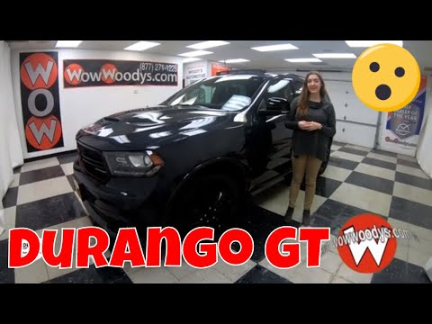 2018 Dodge Durango GT 18HN85 Review | Video Walkaround | Used Cars and Trucks for sale at WowWoodys