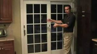 Vertical Or Panel Track Blinds - How To Measure A Door For Installation - Blindsonline.com
