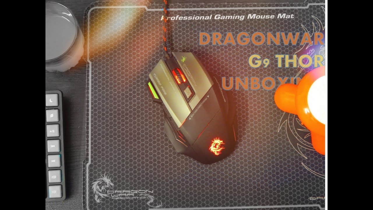 468b3745089 DragonWar G9 Thor 3200dpi Gaming Mouse - Unboxing & Overview - YouTube
