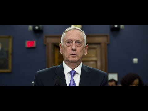 Defense Secretary Jim Mattis testifies before the House Appropriations Defense Subcommittee