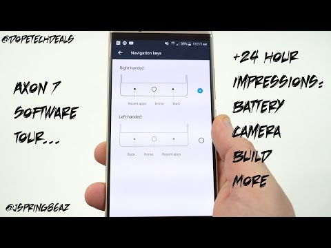 ZTE Axon 7 Software Tour and 24 Hour Impressions!