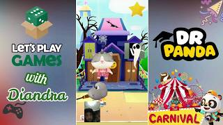 Main Games Seru Dr.Panda Carnival with Diandra | Let's Play Games Together