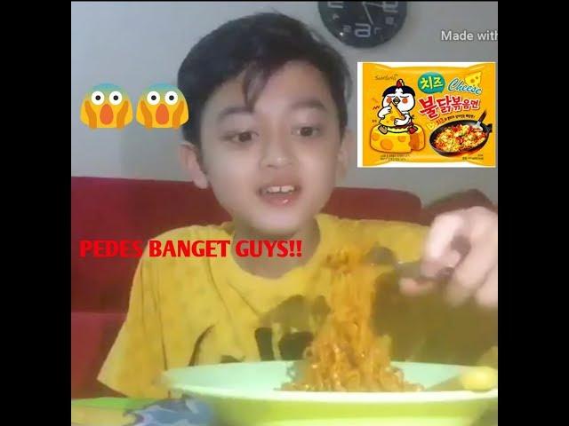Samyang Challenge!! Pedes Banget Guys!! - Azis Fachru