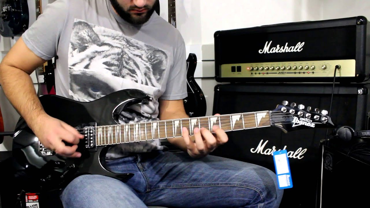 ibanez grg170dx bkn review guitar 294 youtube