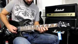 IBANEZ GRG170DX BKN - Demo Guitar