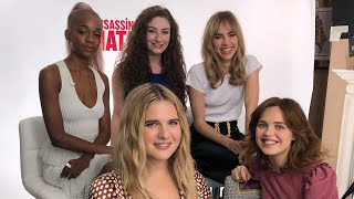 ABC Challenge with the Assassination Nation Cast! 😂| Amber Doig-Thorne
