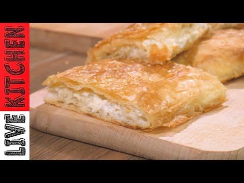 Τυρόπιτα εύκολη με Αλλιώτικη τεχνική του Πάνου – Μια εύκολη τυροπιτα για παιδιά   Live kitchen