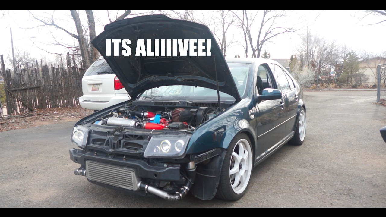 mk4 jetta 2 0 turbo project part 10 it made boost youtube