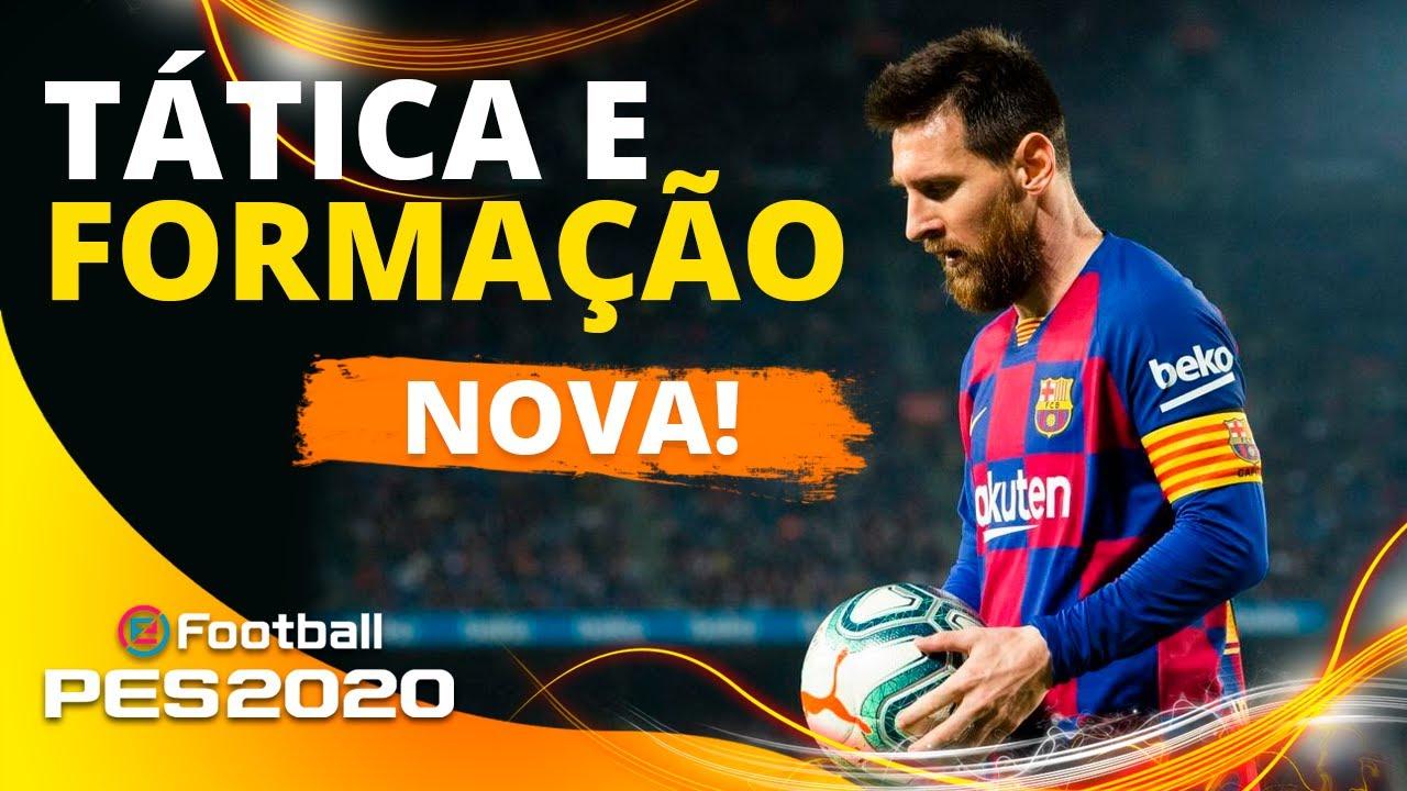 PES 2020 - NOVA! Tática e Formação Barcelona l Ganhe mais partidas! - PS4