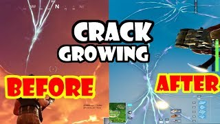 Crack in the Sky is Growing / Fluctuating Unexpectedly Again!!! Fortnite Battle Royale