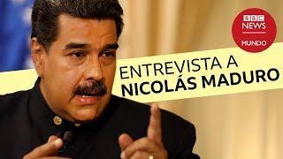 Entrevista con Nicolás Maduro en la BBC