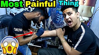 Most Painful Thing || First Permanent Tattoo || Palika Bazar