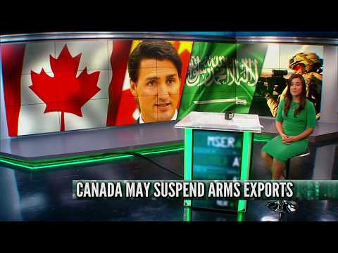 Canada to suspend arms exports?