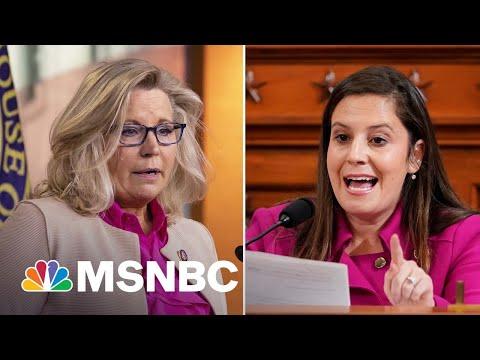 House GOP Poised To Replace Liz Cheney With Trump Loyalist Elise Stefanik   MSNBC