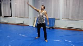 Обучающее видео по 540 кик и side swipe kick