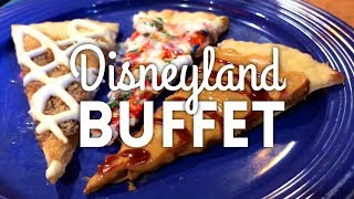 Goofy's Kitchen Disneyland Buffet - Kid Food Fantasy!