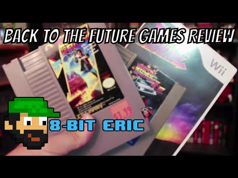 Back To The Future (NES/Wii) Review - 8-Bit Eric - 동영상