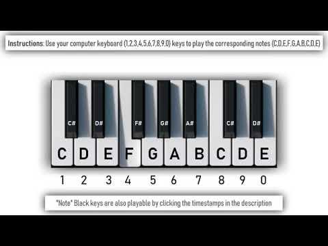 ютуб пианино онлайн